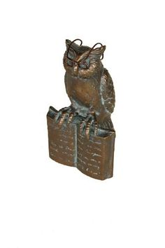 Zoobox, ZRA-0111-R, Reading Owl by Zoobox. Save 21 Off!. $15.80. Collectable. Made to look like High Quality Brass. High quality Resin. Unique Original Design. Whimsical animals wearing eyeglasses are truly one of a kind. Durable resin will last indoors or outdoors.  4 Inch L x 4 Inch W x 7 Inch H