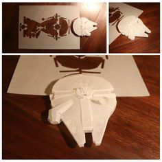 Millenium Falcon from AngeloDema's 100dayproject.co.nz