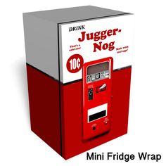 Juggernog Mini fridge wrap