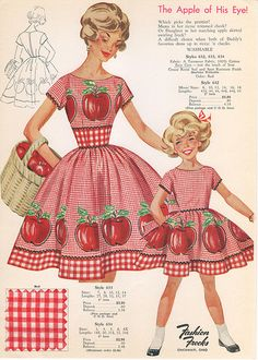 Fashion Frocks Style Card-1960 | For all those moments when … | Flickr - Photo Sharing!