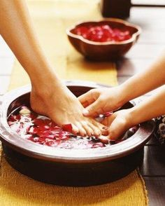 Romantic Act of the Day: Have You Washed Her Feet Lately?