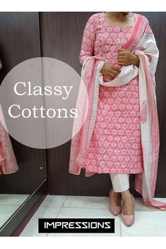 """Check out more designs on our youtube channel """"Impressions Designstudios"""" Pakistani Dress Design, Pakistani Dresses, Designer Dresses, Channel, Sari, Classy, Check, Youtube, Cotton"""