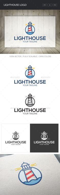 Lighthouse Logo Template #design #logotype Download: http://graphicriver.net/item/lighthouse-logo/10747147?ref=ksioks