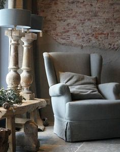 Krijtverf muren, grey http://www.profiverf.nl/krijtverf-pittura ...