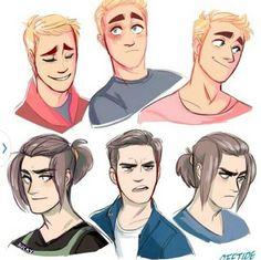 Steve and Bucky in true Disney style.