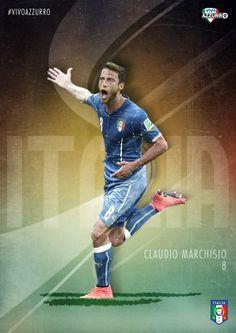 Ieri notte nella #GallassiaAzzurra ha brillato la costellazione di Claudio #Marchisio!  #VivoAzzurro