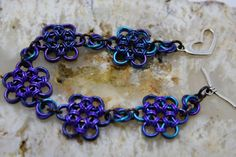 Hey, I found this really awesome Etsy listing at https://www.etsy.com/listing/262411199/blue-and-purple-japanese-lace-bracelet