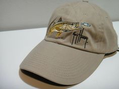 99420dc8 Guy Harvey By AFTCO Bluewater Adjustible Hat One Size Fits All Color Khaki  #SaltLife #