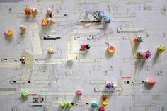arquitectoserectos:  perry kulper the drawing bazaar