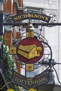 T: Nicholson's Oxford Street, London Restaurant Signs, Pub Signs, British Pub, British Country, Uk Pub, Storefront Signs, Cafe Sign, Decorative Signs, Business Signs