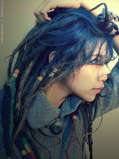 Blue Dreadlocks