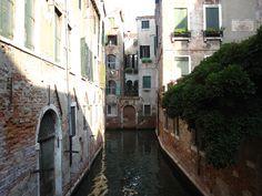 "An ""alleyway"" in Venice"