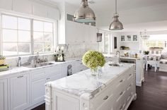 Kitchen: Excellent French Kitchen Backsplash Accents Furthemore Backsplashes With White Cabinets Including The Tile Mural Store Furthemore Fascinating French Country Kitchen Backsplash: French Kitchen Backsplash Ideas Country Kitchen Backsplash, Backsplash For White Cabinets, Marble Countertops, Kitchen Island, Backsplash Ideas, Wall Cabinets, Kitchen Wood, French Country Kitchens, French Kitchen