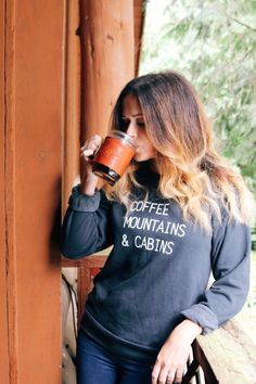 Coffee, Mountains & Cabins