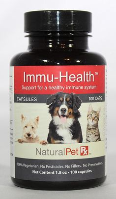 Natural Pet RX Immu-Health Immune System Support (100 Capsules) ** Want to know more, click on the image. (This is an affiliate link and I receive a commission for the sales)