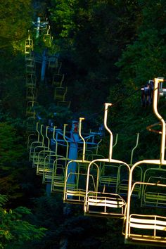 Fun Mountain Amusement Park  Photo by Chicken Stock on Flickr