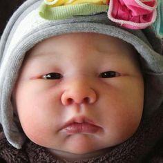 Luli Doll Closed Eye Kit by Adriesdolls