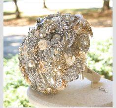 gemstone flower bouquet