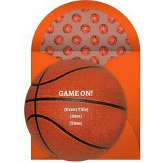 Online Basketball Invitations
