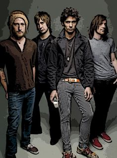 """The All-American Rejects """"Got Milk"""" Ad photo by Annie Leibovitz Sound Of Music, Music Is Life, New Music, Got Milk Ads, Tyson Ritter, Scouting For Girls, Annie Leibovitz Photography, Secret Photo, Play That Funky Music"""