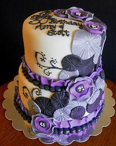 Brilliant 14 Best Purple Cakes Images Purple Cakes Cupcake Cakes Cake Funny Birthday Cards Online Ioscodamsfinfo