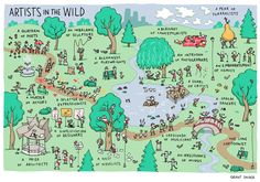 INCIDENTAL COMICS: Artists in the Wild