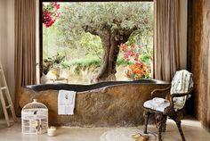 Salle de bain de luxe en style Shabby Chic : 25 exemples inspirants