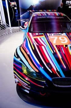 BMW M3 GT2 by Jeff Koons in Paris