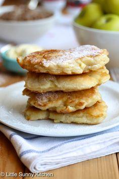 pancake polish apple