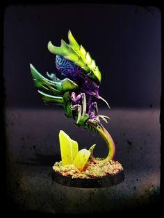Warhammer 40k Tyranids, Geek Stuff, Plants, Dioramas, Figurine, Geek Things, Plant, Planets
