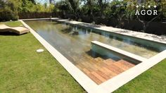 Amazing Secret / Hidden Swimming Pool - A Creative Engineering By AGOR. #swimmingpools