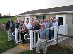 The North River (VA) Ruritan club donated $10,000 to Weekly Religious Education for the construction of a new facility pictured here.