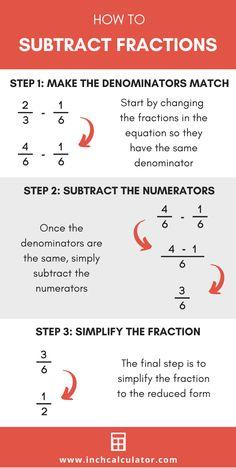 Math Fractions, Learning Fractions, Teaching Math, Math Lessons, Math Tips, Math Charts, Maths Solutions, Math Work, School Study Tips