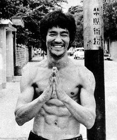 Bruce Lee. It can be argued that Bruce was the first figure to truly globalize the importance (and therefore coolness) of blending intellectual and physical development. His open mind and holistic approach to self revolutionized the martial arts, athletic training, nutrition and even philosophy. He has inspired millions to not just be better fighters, but better people. cameronconaway summer-body-time