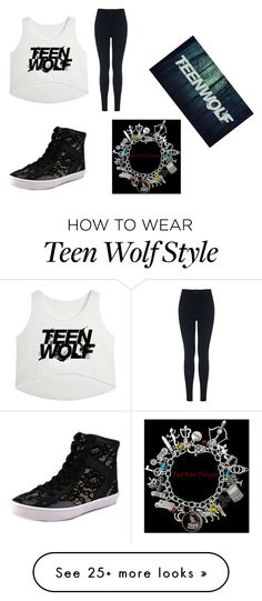 """Teen Wolf is amazing"" by kystewart on Polyvore featuring Miss Selfridge and Rebecca Minkoff"