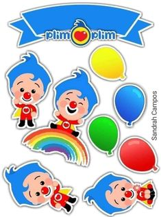 Cake Toppers, 1, Pastel, Cakes, Craft, Food Cakes, Sweets, Clowns, Printables