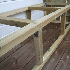 Veranda prosjektet er ferdig :D – Mitt Lille Prosjekt Woodworking, Crafts, Outdoor, Outdoors, Manualidades, Handmade Crafts, Outdoor Games, Carpentry, Diy Crafts