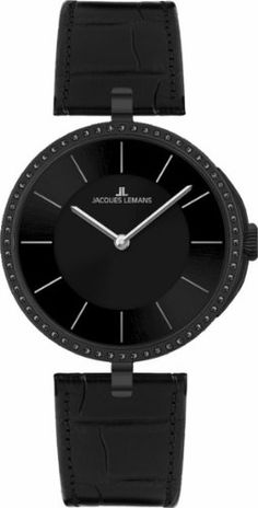 Jacques Lemans Women's 1-1662G London Classic Analog with Swarovski Elements Watch