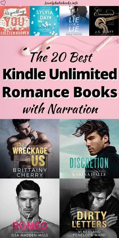 These 20 audiobooks are not only super hot and super sweet with fantastic alpha and bad boy heroes and amazing heroines, they are also all actually free to listen to with a Kindle Unlimited subscription. Check out these amazing bestselling authors and narrators!