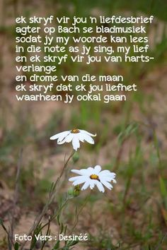 Ek skryf vir jou n liefdesbrief agter op Bach se bladmusiek Love My Man, Love You, Afrikaanse Quotes, Goeie Nag, Truth Of Life, Faith In Love, My Land, Qoutes, Love Quotes