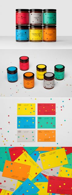 Jammy Yummy — The Dieline - Branding & Packaging Design. - a grouped images picture Food Branding, Food Packaging Design, Branding Agency, Kids Branding, Packaging Design Inspiration, Brand Packaging, Business Branding, Branding Design, Corporate Branding