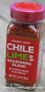 What's Good at Trader Joe's?: Trader Joe's Chile Lime Seasoning Blend