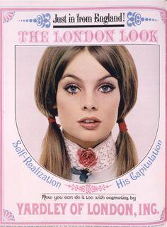 Net Photo: Jean Shrimpton: Image ID: . Pic of Jean Shrimpton - Latest Jean Shrimpton Image. Vintage Makeup Ads, 60s Makeup, Vintage Beauty, Vintage Ads, Vintage Fashion, Retro Ads, Vintage Stuff, Vintage Designs, Jean Shrimpton