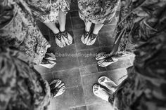 foot shot - wedding preparation