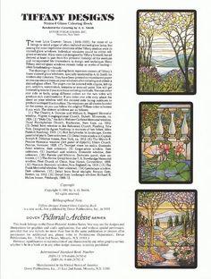 8 best Tiffany Designs images on Pinterest | Livres à colorier ...