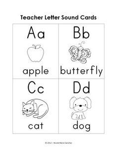 Letter Sound Fluency  Classroom Ideas    Literacy
