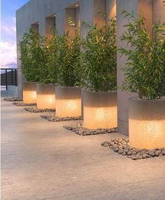 23 Ideas Backyard Lighting Led - All For Garden Backyard Pool Designs, Backyard Landscaping, Backyard Lighting, Outdoor Lighting, Glass Planter, French Style Homes, Exterior, Garden Planters, Garden Planning
