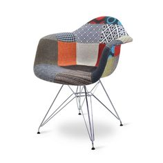 Charles DAR Patchwork edition. DAR chairs online at Designerchairs24