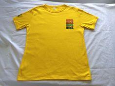 NIKE Shirt 70's Rough Cut PINWHEEL Vintage/ by sweetVTGtshirt