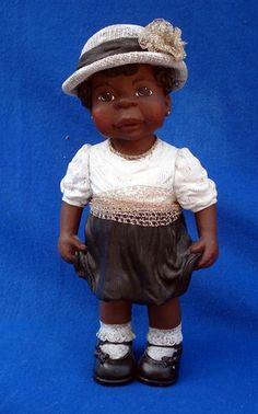 Beautiful 1995 Sarahs Attic SUNDAY BEST TILLIE Black Americana Figurine ~ LE - $ 49.95